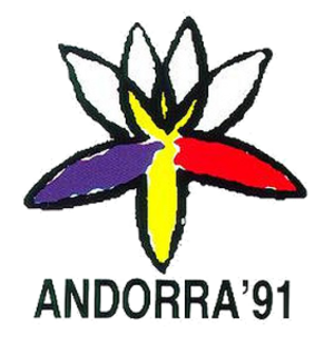 1991 Games of the Small States of Europe - Image: Andorra 1991logo