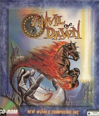 Anvil of Dawn - Image: Anvilof Dawn Cover