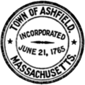 Ashfield, Massachusetts - Image: Ashfield MA Seal