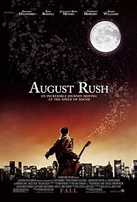 Promotional Poster of the movie 'August Rush', wiki