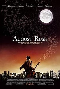 Film poster for August Rush - Copyright 2007, ...