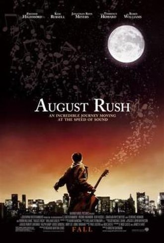 August Rush - Theatrical release poster