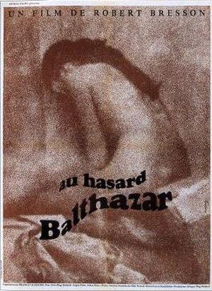 Au Hasard Balthazar - French poster