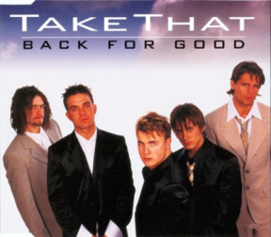 Back for Good (song) - Image: Back for Good US cover