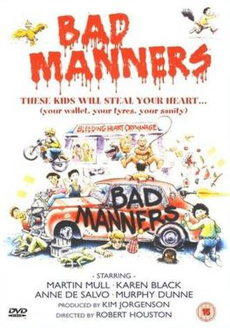 Bad Manners (1984 film) - Image: Bad Manners Region 2 DVD cover