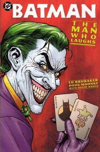 Batman: The Man Who Laughs - Cover of Batman: The Man Who Laughs