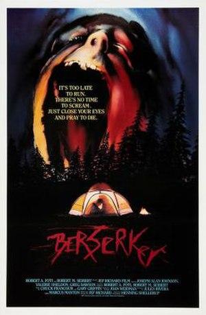 Berserker (1987 film) - Image: Berserker Film Poster