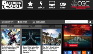 Bleeding Cool internet news site