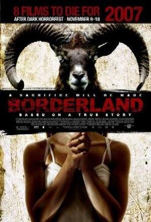 Borderland (film) - Promotional film poster