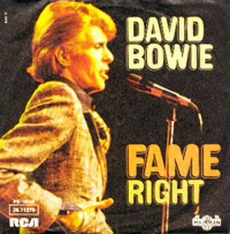 Fame (David Bowie song) - Image: Bowie Fame