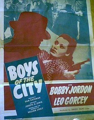 Boys of the City - Theatrical poster