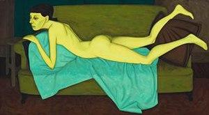 sofa on Boucher nude