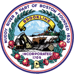 Official seal of Brookline, Massachusetts