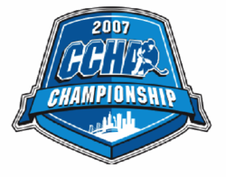 2007 CCHA Men's Ice Hockey Tournament logo