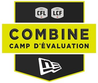 CFL Combine Canadian Football League training camp