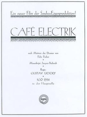 Café Elektric - Film poster