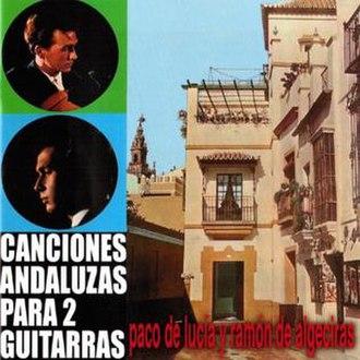 Canciones andaluzas para 2 guitarras - Image: Canciones andaluzas