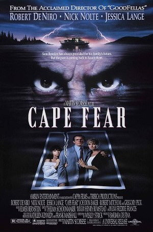 Cape Fear (1991 film) - Theatrical release poster by John Alvin