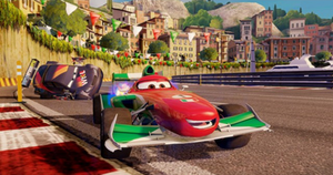 Cars 2 (video game) - Cars 2 features most of the characters from its film counterpart, with additional characters from both movies available for the PlayStation 3 and Xbox 360 via downloadable content.