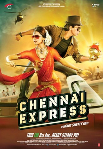 Chennai Express - Theatrical release poster