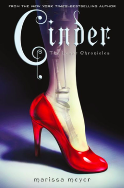 Picture of a book: Cinder