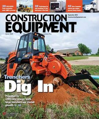 Construction Equipment - Image: Construction Equipment 2013 cover