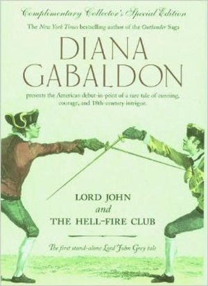 Lord John series - First stand-alone print cover, Hell-Fire Club (1998)