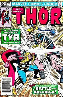 Tyr (Marvel Comics) fictional character in the Marvel Universe