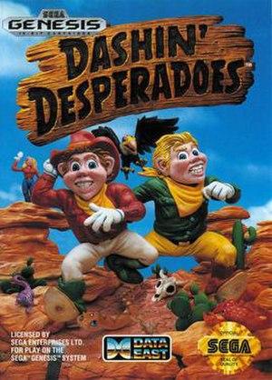 Dashin' Desperadoes - Box art
