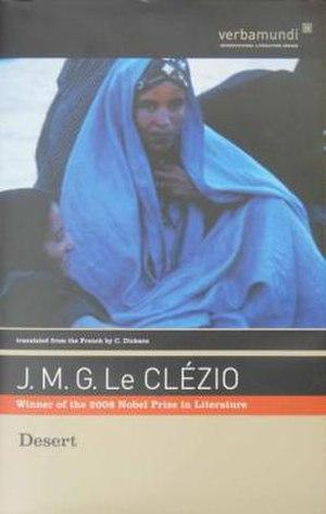Désert (novel) - First English edition (US)