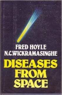 <i>Diseases from Space</i> book by Fred Hoyle