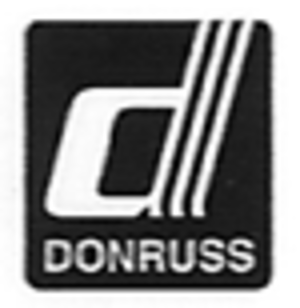 Donruss - Logo from 1980 to 1985. It was revived for the 2002 retro-themed Donruss Originals set.