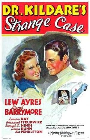 Dr. Kildare's Strange Case - Image: Dr. Kildare's Strange Case Film Poster