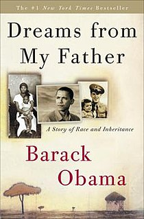 <i>Dreams from My Father</i> Book by Barack Obama