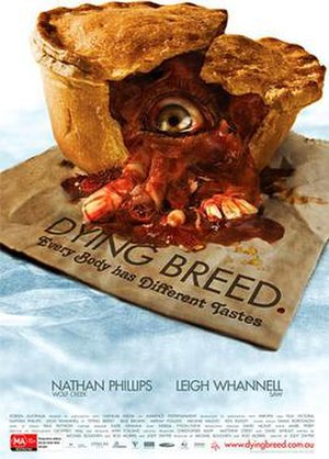 Dying Breed (film) - Theatrical film poster