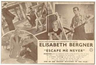 Escape Me Never (1935 film) - Image: Escape Me Never (1935 film)