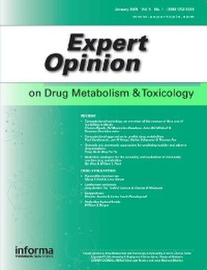 Expert Opinion on Drug Metabolism & Toxicology - Image: Expert Opinion on Drug Metabolism & Toxicology