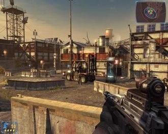 Frontlines: Fuel of War - Gameplay example, PC version