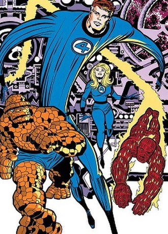 Fantastic Four - Image: Fantastic Four (Marvel Comics characters)