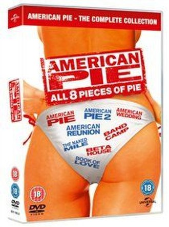 American Pie (film series) - Box set containing all eight films from 1999 to 2012