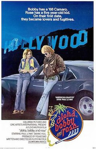 Aloha, Bobby and Rose - Theatrical release poster