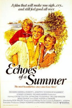 Echoes of a Summer - Theatrical release poster