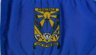 Coaldale, Alberta - Image: Flag of Coaldale
