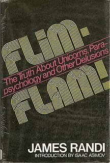<i>Flim-Flam!</i> Book by James Randi about paranormal and pseudoscience claims.