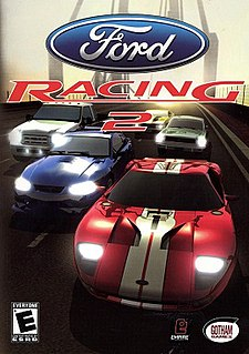 <i>Ford Racing 2</i> 2003 video game