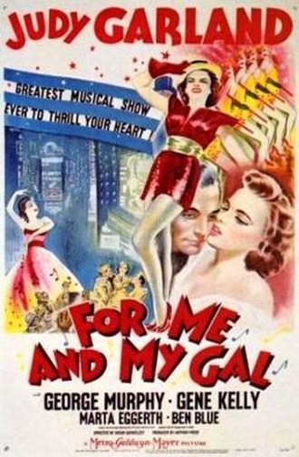 For Me and My Gal (film) - theatrical release poster