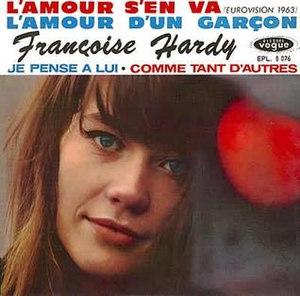 L'amour s'en va - Image: Françoise Hardy L'amour s'en va