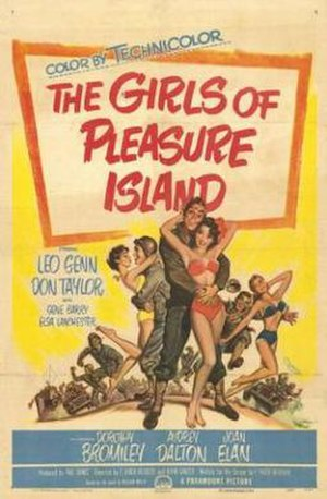 The Girls of Pleasure Island - Theatrical release poster by Pete Hawley