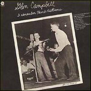 I Remember Hank Williams - Image: Glen Campbell I Remember Hank Williams album cover