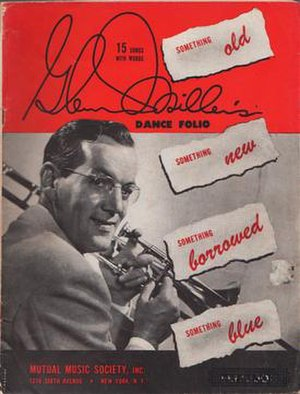 "I Sustain the Wings - The sheet music for ""I Sustain the Wings"" first appeared in the 1943 Glenn Miller's Dance Folio songbook, Mutual Music Society, New York."
